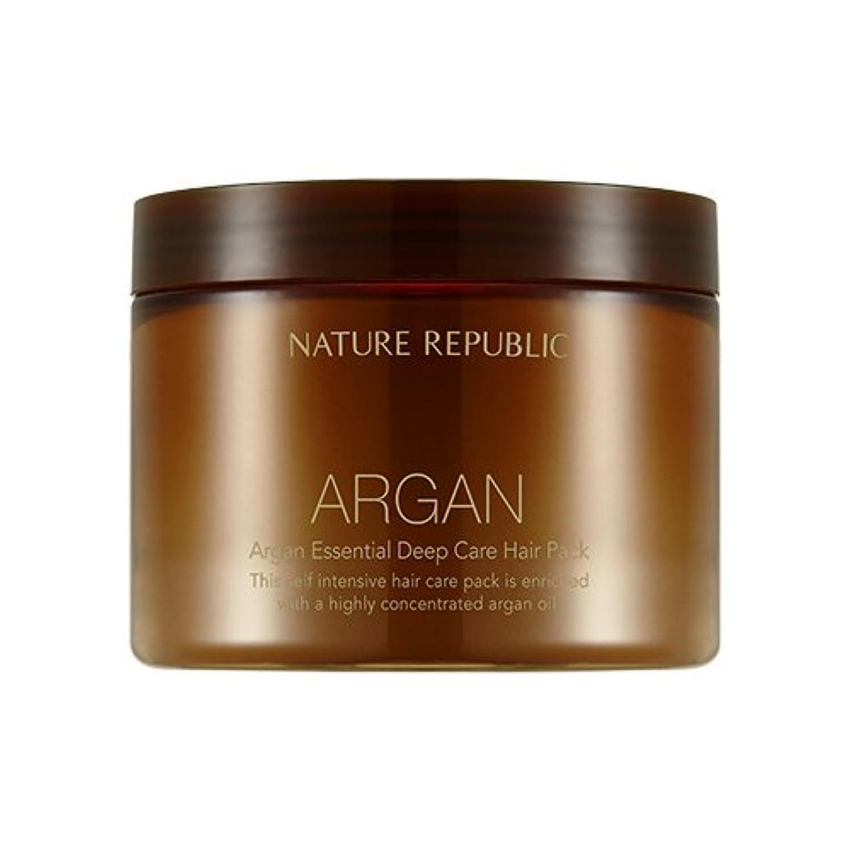 分許さないアノイNATURE REPUBLIC Argan Essential Deep Care Hair Pack 470ml ネイチャーリパブリック アルガンエッセンシャルディープケアヘアパック 470ml [並行輸入品]