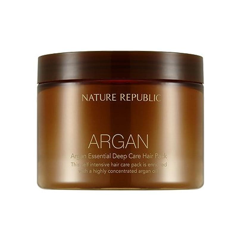 モッキンバードシルエット頑丈NATURE REPUBLIC Argan Essential Deep Care Hair Pack 470ml ネイチャーリパブリック アルガンエッセンシャルディープケアヘアパック 470ml [並行輸入品]