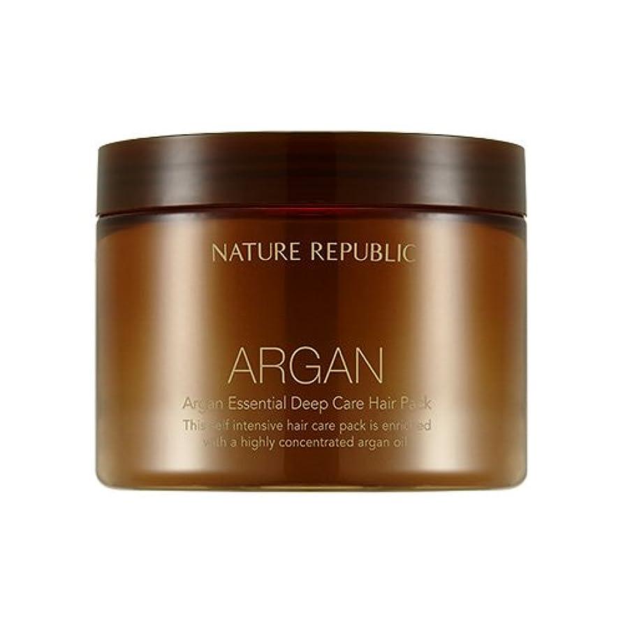 拒絶見込み座るNATURE REPUBLIC Argan Essential Deep Care Hair Pack 470ml ネイチャーリパブリック アルガンエッセンシャルディープケアヘアパック 470ml [並行輸入品]