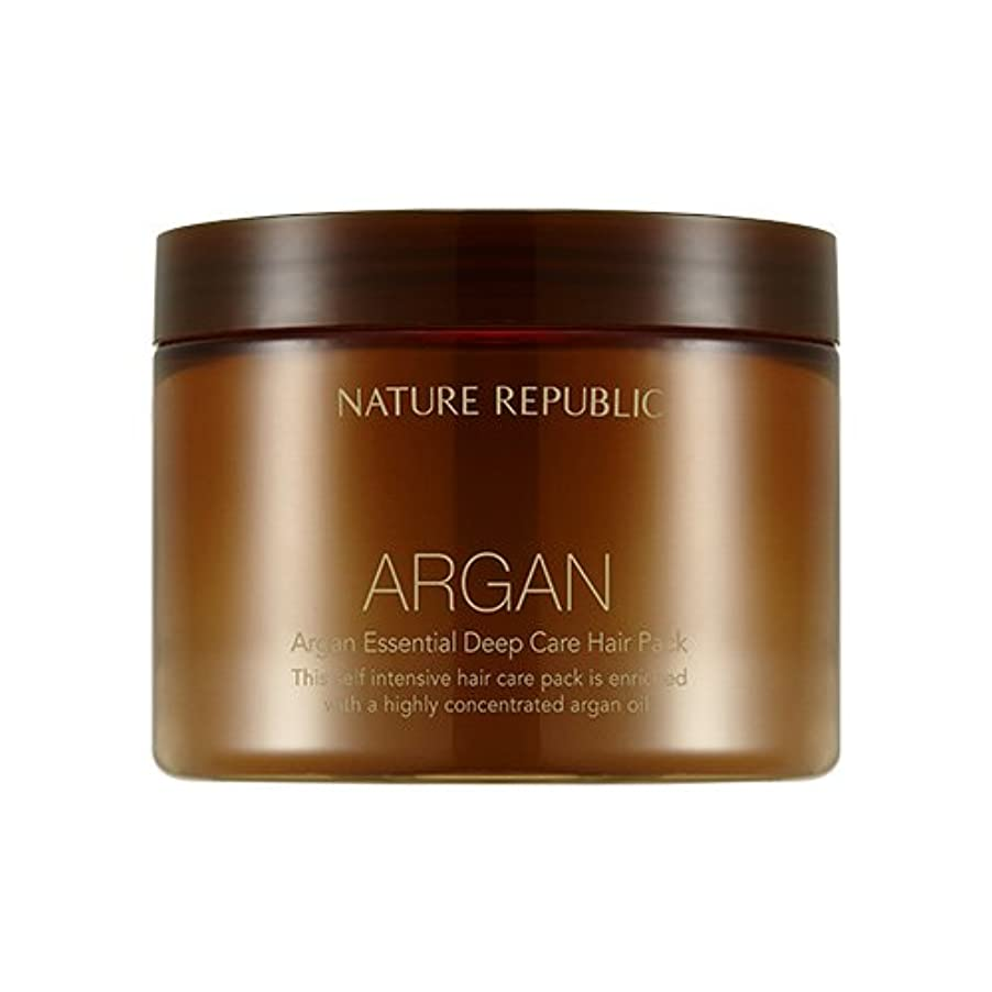 方向孤独なアイロニーNATURE REPUBLIC Argan Essential Deep Care Hair Pack 470ml ネイチャーリパブリック アルガンエッセンシャルディープケアヘアパック 470ml [並行輸入品]