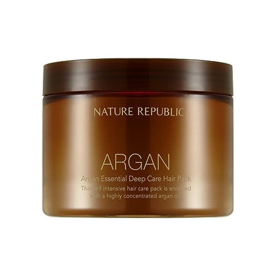 劇場殺す取り替えるNATURE REPUBLIC Argan Essential Deep Care Hair Pack 470ml ネイチャーリパブリック アルガンエッセンシャルディープケアヘアパック 470ml [並行輸入品]