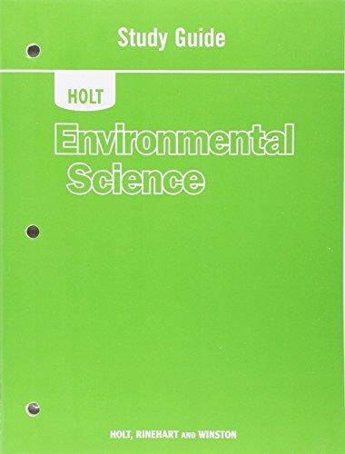 Download Holt Enviromental Science (Holt Environmental Science) 0030931126