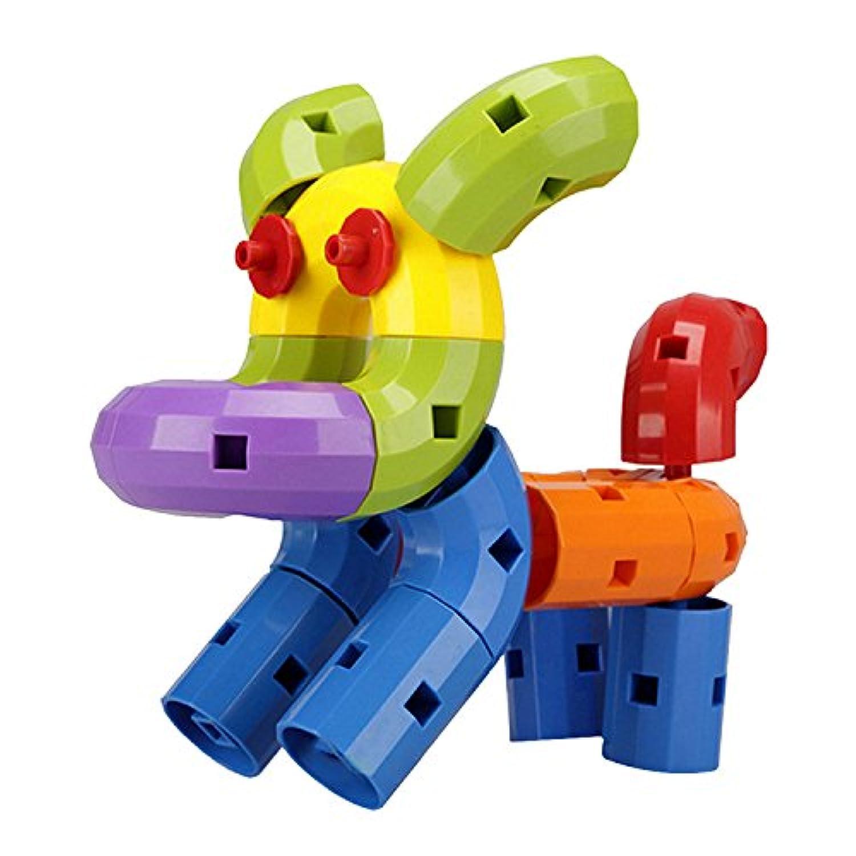 【Ligangam】キッズ スプライシング ビルディング ブロック デスクトップ 面白い おもちゃ 贈り物