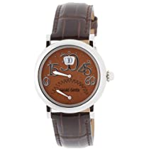 Gerald Genta (ジェラルド ジェンタ)腕時計 アリーナコンテンポラリーバイレトロ ブラウン BIRL10540CBBA メンズ [並行輸入品]