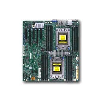 Supermicro h11dsi-oデュアルsp3ソケットAMDマザーボード
