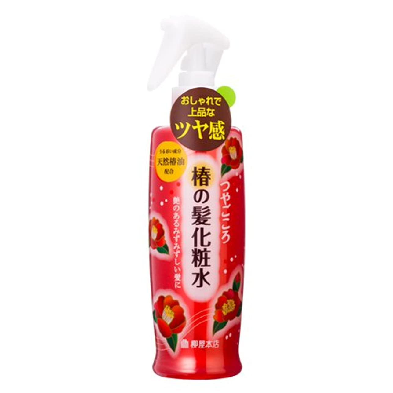 治世画面道徳つやごころ 椿の髪化粧水250ml