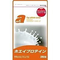 アルプロン トップアスリートシリーズ ホエイプロテイン100 ストロベリー(250g) 健康食品 プロテイン プロテイン原材料別 [簡易パッケージ品] k1-4571194865592-ak