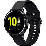 Spigen ACS00217 Liquid Air Case Designed for Samsung Galaxy Watch Active 2 44mm (2019) Soft TPU Armor Slim Cover,Black