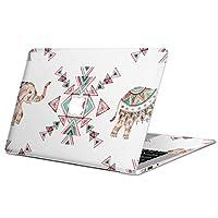 MacBook Pro 15 インチ (Late2016 ~ ) 専用スキンシール マックブック 15inch 15インチ Mac Book Pro マックブック プロ ノートブック ノートパソコン カバー ケース フィルム ステッカー アクセサリー 保護 ジャンル ゾウ 動物 模様 011770