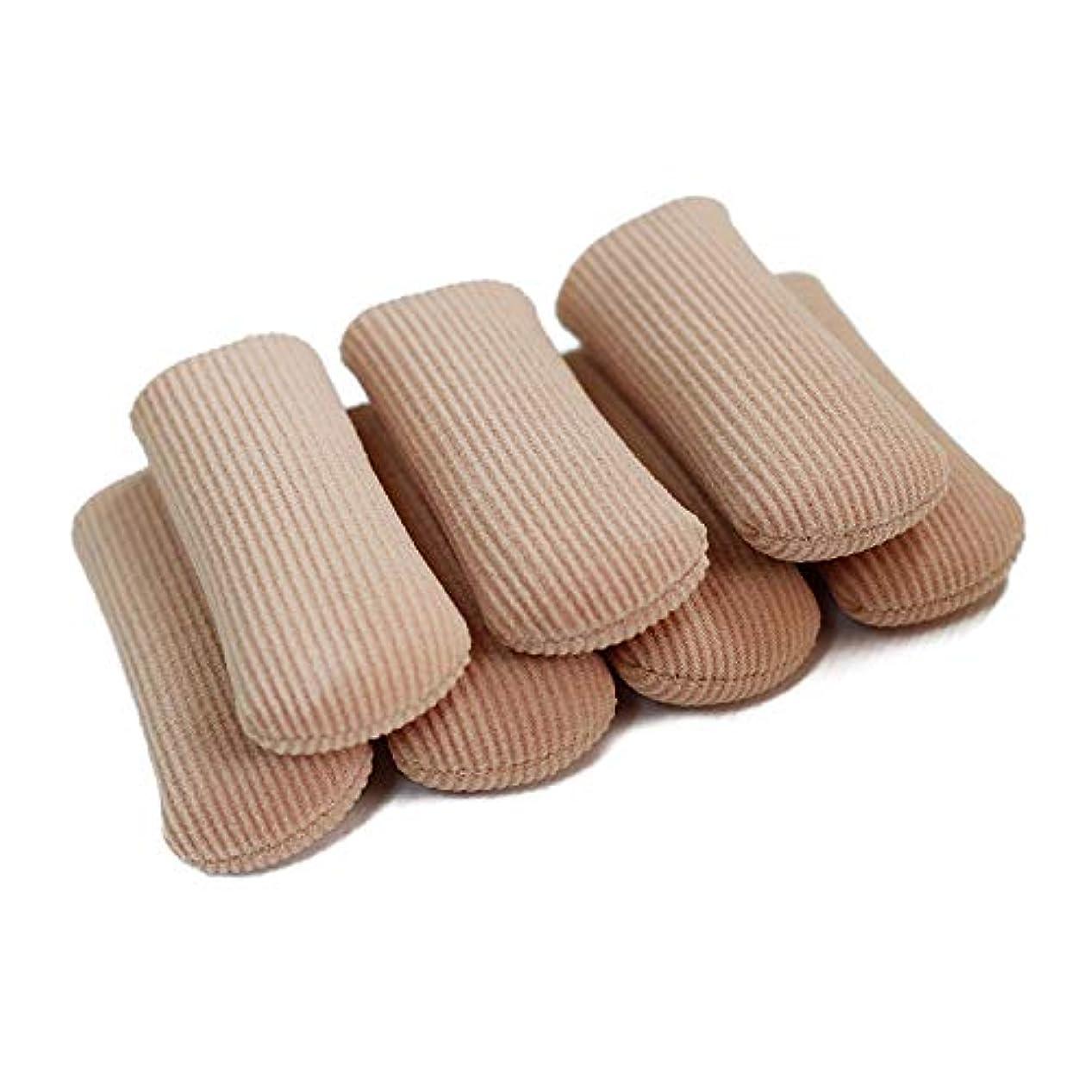 分岐する侵入する瞑想的6個入 L 足指保護キャップ 撃吸収 レディース メンズ 男 女性適用