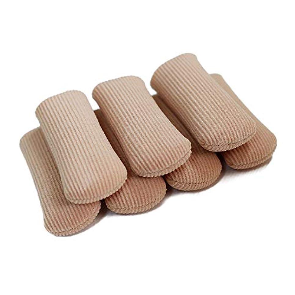 コンピューターを使用する株式会社パターン6個入 L 足指保護キャップ 撃吸収 レディース メンズ 男 女性適用