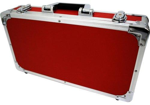 KC エフェクターケース EC-50/RD レッド (内寸 425 x 220 x 55+20mm)