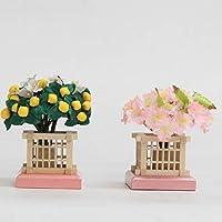 アウトレット品 雛人形桜橘単品 20号【19ya1030】ピンク台 盛花