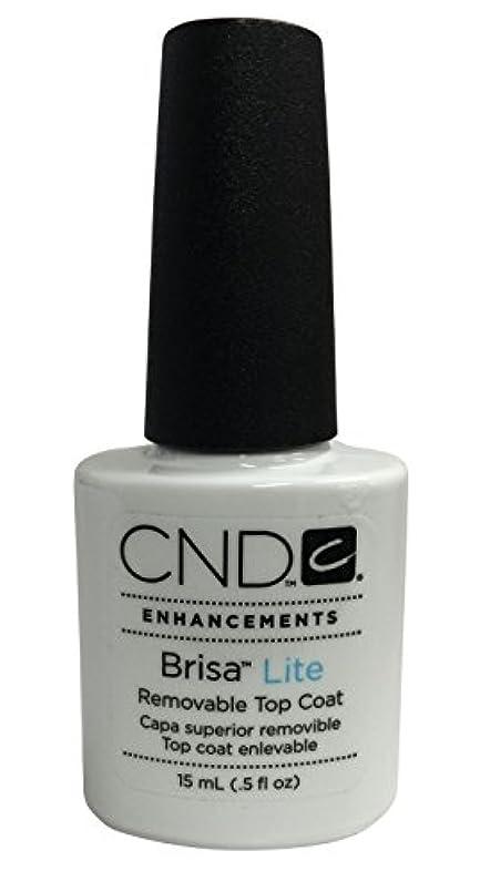 シットコム黒人今までCND Brisa Lite(ブリザライト) トップコート 15ml