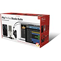 IK Multimedia iRig Pro Duo Studio Suite オールインワン・ホームスタジオバンドル【国内正規品】