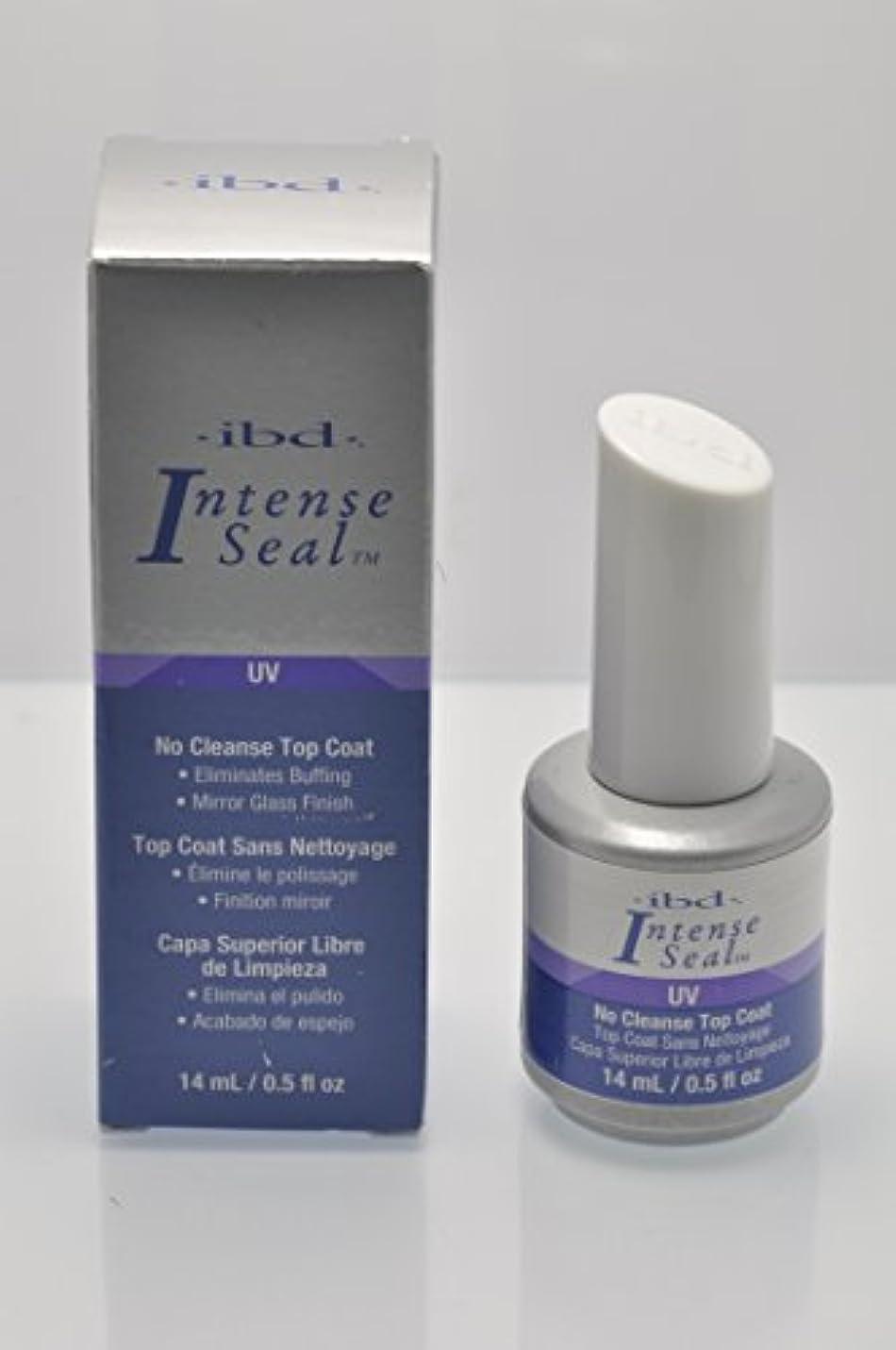 テロ宿命固体ibd Just Gel Nail Polish - No Cleanse Top Coat - 14ml / 0.5oz