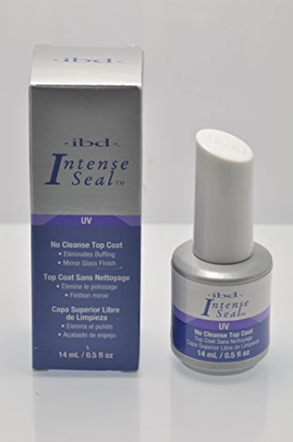 ケニア突撃過半数ibd Just Gel Nail Polish - No Cleanse Top Coat - 14ml / 0.5oz