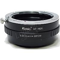 Kernel ミノルタAマウント(Sony αマウント)レンズ-Sony Eマウントアダプター(絞り調整対応) α7/α6000/α5100【ネットショップ ロガリズム】MA-NEX