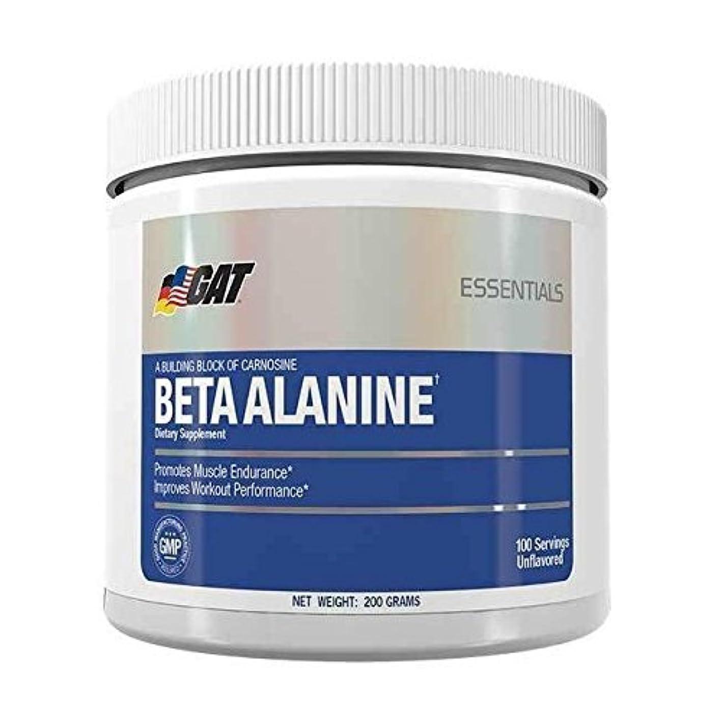 子音空洞扇動するベータアラニン 200g 100回分 (Beta Alanine 100 Servings)