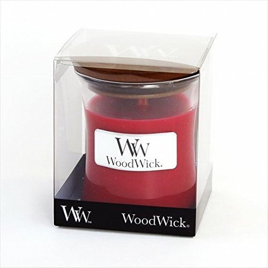 ホイップ撤退ラベルカメヤマキャンドル( kameyama candle ) Wood Wick ジャーS 「 カラント 」
