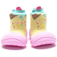 Attipas Ice Cream Baby Walker Shoes, Pink, Large