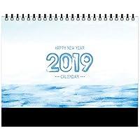 広海パターン 2018-2019 オフィス/ホームカレンダー デスク スタンディングカレンダー