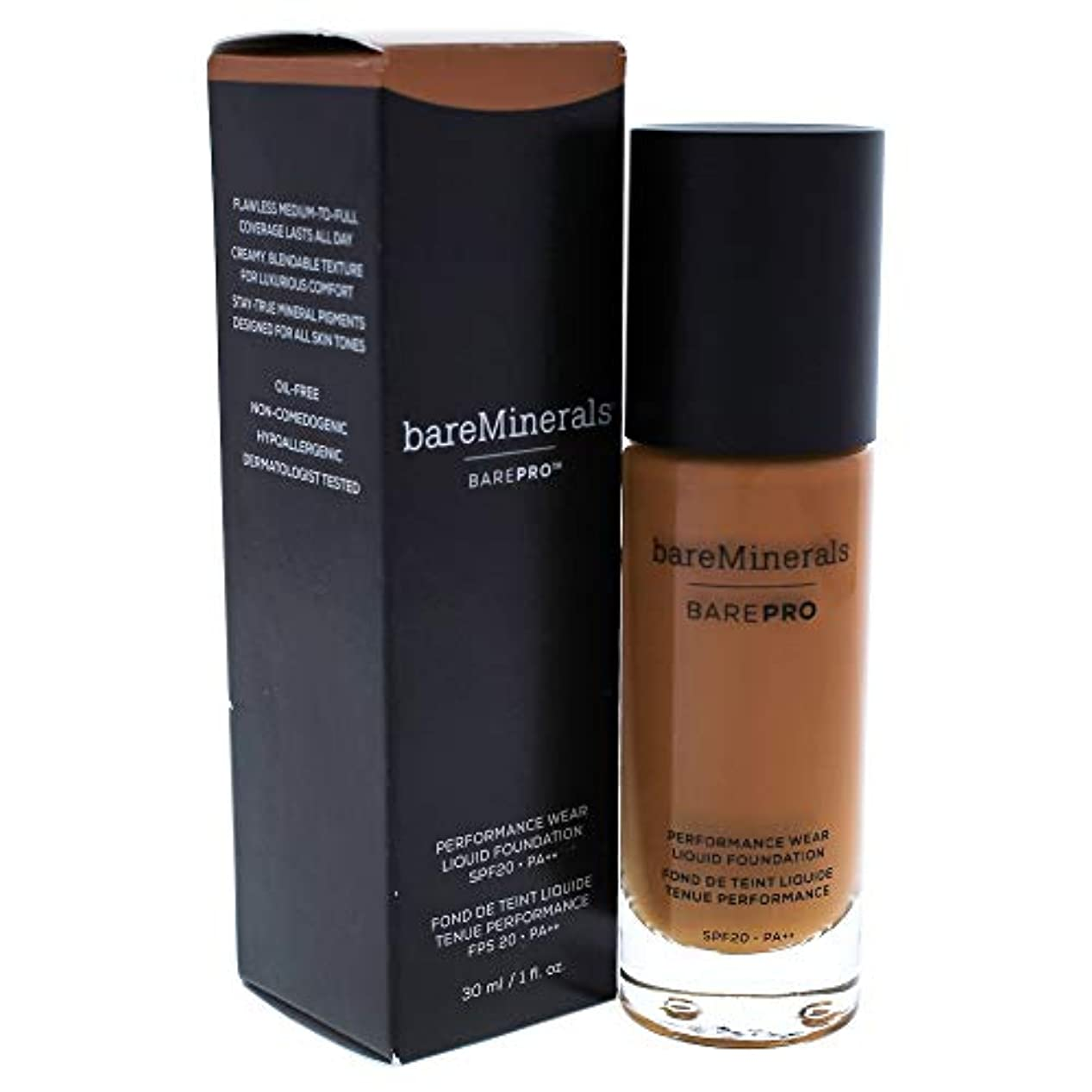 ホバートヒットフェードBarepro Performance Wear Liquid Foundation SPF 20-27 Cappuccino