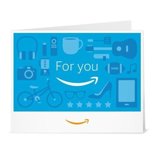 Amazonギフト券- 印刷タイプ(PDF) - あなたに(for you blue)