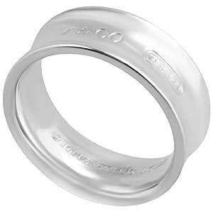 [ティファニー] TIFFANY スターリングシルバー 1837 ミディアム リング 指輪 【並行輸入品】
