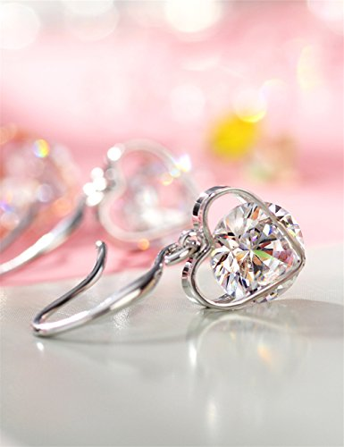 (ネオグロリー)Neoglory Jewelryロマンチック ハート型 愛 ファッション 人気 レディース 揺れる ビアス ジュエリー アクセサリー