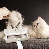 Pet Hair Fur Lint Remover Roller & Bonus Free Dog or Cat Grooming Gloves