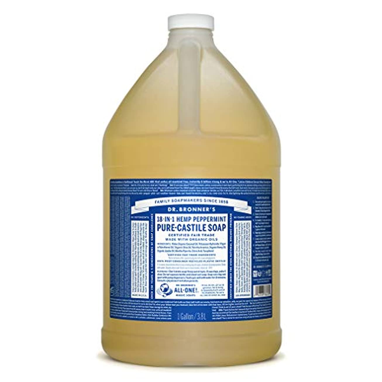 レクリエーション求人パワーセルドクターブロナー マジックソープ液体 ペパーミント 3785ml