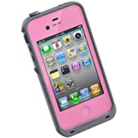 【日本正規代理店品】LIFEPROOF iPhone4/4S用防水防塵耐衝撃ケース LifeProof Gen2 ピンク LPIPH4CS02PK