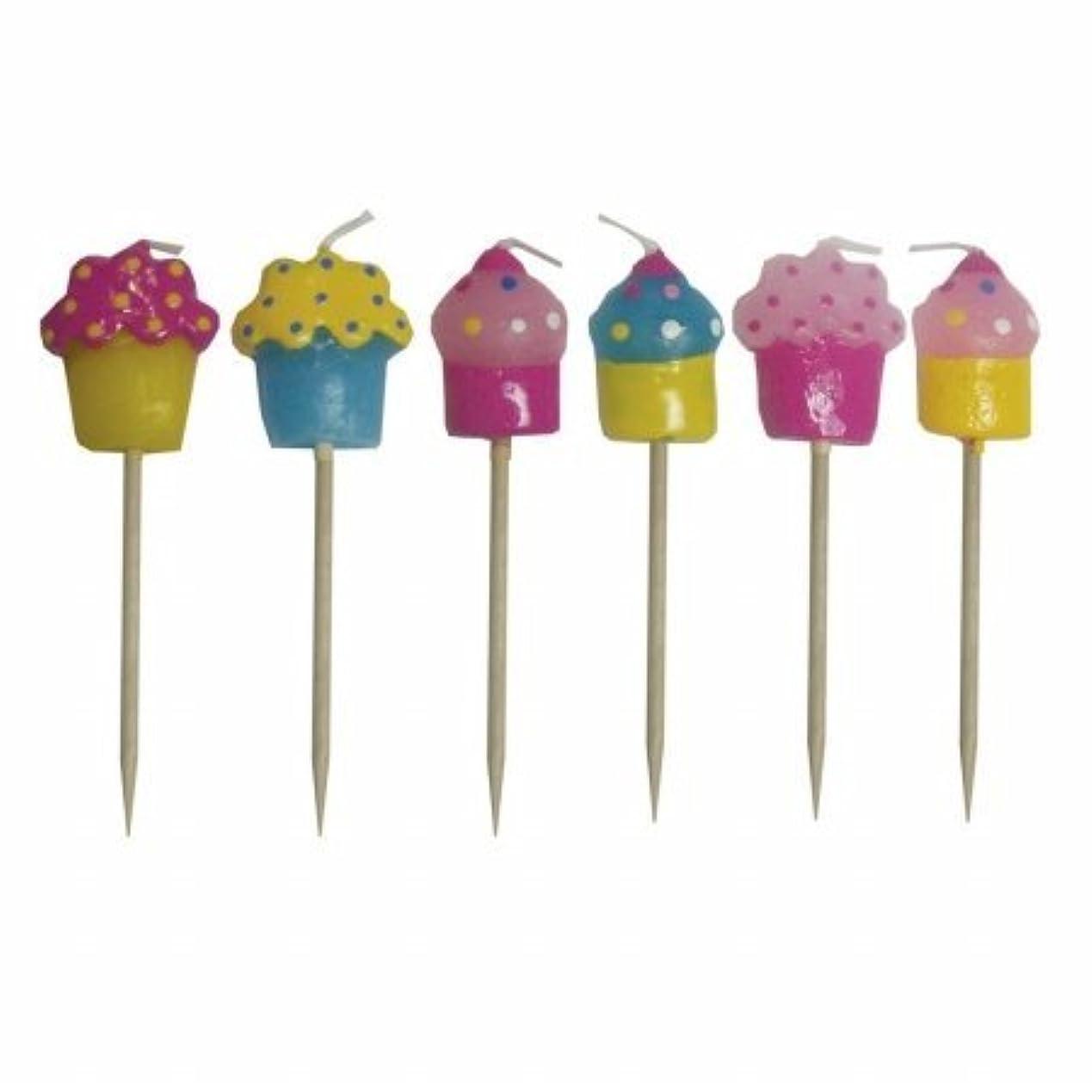 シェード切る電極Sassafras Enterprises 2300CUP Cupcake Candles