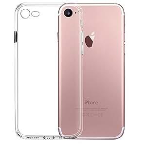 Nowest (ノウェスト)iPhone8 iPhone7 ケース クリアケース 高機能 シリコン 超薄型 0.8mm 超軽量 耐衝撃 防指紋 Nowestオリジナルクリーニングクロス付き (iPhone8/7, クリアクリスタル)