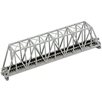 Kato N Scale 9-3/4 Truss Bridge Gray [Floral] [並行輸入品]
