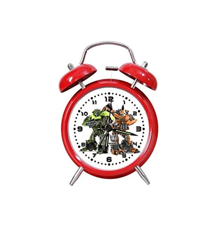 印をつけるかろうじて後Kaiyitong001 目覚まし時計、シンプルな学生の目覚まし時計、サイレントな旅行時間創造的な学生の目覚まし時計、寝室のベッドサイドに適した、(赤、青) (Color : Red1)