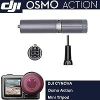 CYNOVA Huaye Osmo アクションミニ三脚サプリメントアクセサリー DJI Osmo アクションカム デジタルカメラ対応 防水 4K HDR-ビデオ 12MP