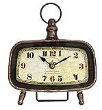 あまの(Amano) 置き時計 〔スクエア〕MAP 20×23cm MJH-1061