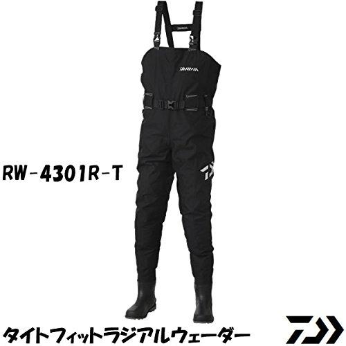 ダイワ(Daiwa) ウェーダー タイトフィットラジアルウェーダー RW-4301R-T ブラック L