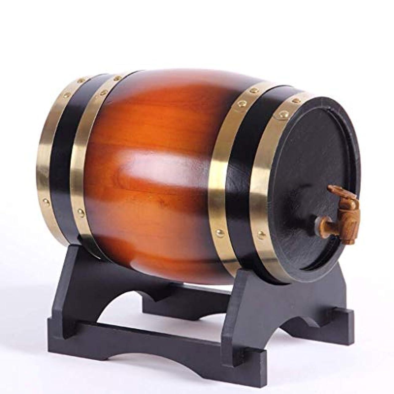 運搬洗う方言EAHKGmh 貯蔵用ウイスキー、ビール、ワイン、バーボン、テキーラ、ラム酒、ホットソースなどのためのワイン樽プレミアムオークエージングバレルアルミホイルライナー (Color : A, Size : 5L)