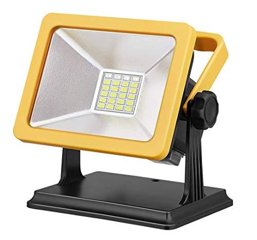 Lexu LED投光器 15W超薄型 ポータブル投光器 登山 夜釣り LEDライト非常灯 防水集魚灯 看板灯 充電式LED作業灯 コードレス 防水防塵 地震 防災対策 昼白色 5年品質保証