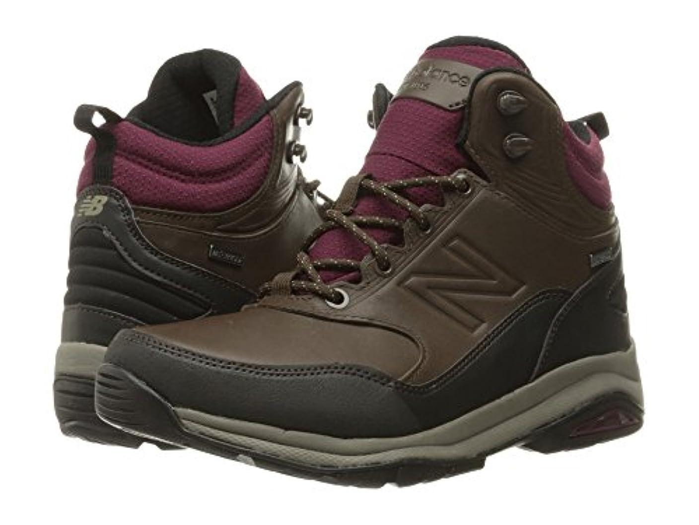 歯痛松の木社会科(ニューバランス) New Balance レディースブーツ?靴 WW1400v1 Dark Brown 5.5 (22.5cm) 2A - Narrow