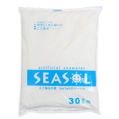 箱売り 人工海水の素 SEA SALTのシーソル 30L用 お買い得20袋入り