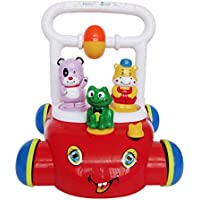 YXXHM- 子供用 トロリー ベビー 玩具 車 トロリー 調節可能 スピード 音楽 1-3歳 ウォーカー 手と目のコーディネート 親子通信 384441cm