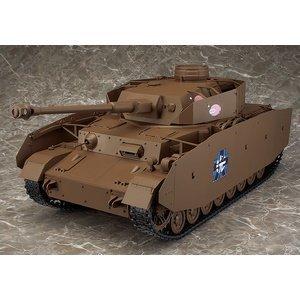 Figma vehículos IV Panzer H-Tipo D-SPEC Buena Sonrisa Figura de Acción Japón