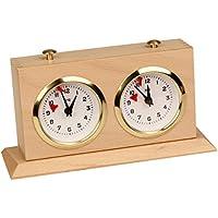 BHB Tiltback Tournament Chess Clock - Natural