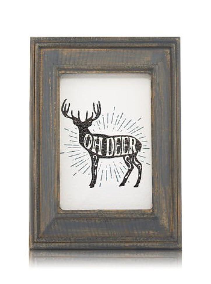 リファイン方法論技術的な【Bath&Body Works/バス&ボディワークス】 ルームフレグランス プラグインスターター (本体のみ) ウッドフレーム トナカイ Wallflowers Fragrance Plug Wooden Oh Deer...