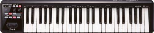 Roland ローランド MIDIキーボードコントローラー A-49-BK ブラック 49鍵