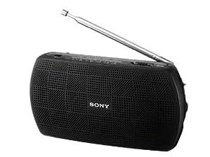 SONY ステレオポータブルラジオ ブラック SRF-18/B